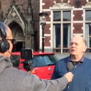 Mediatraining: oefenen met het beantwoorden van journalistieke vragen voor de camera